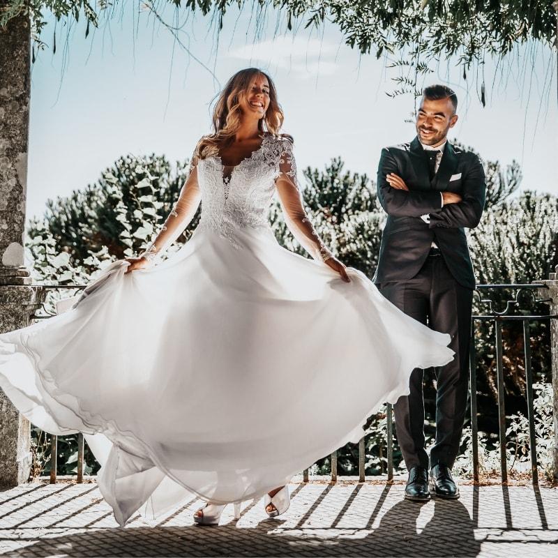 Brudekjoler Grace store størrelser