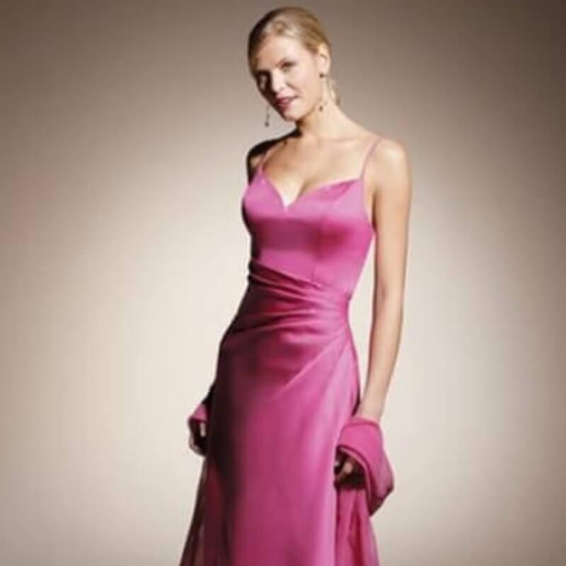 Gallakjole pink