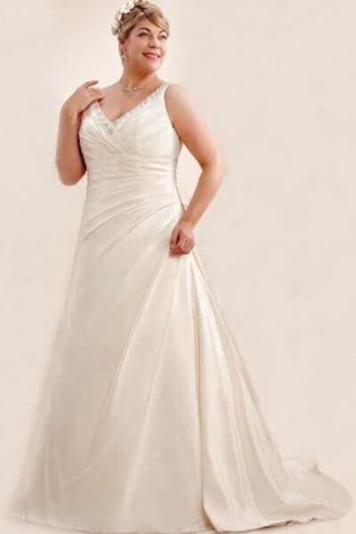 11dbda2706e Se vores store udvalg af brudekjoler i store størrelser. | ABC ...