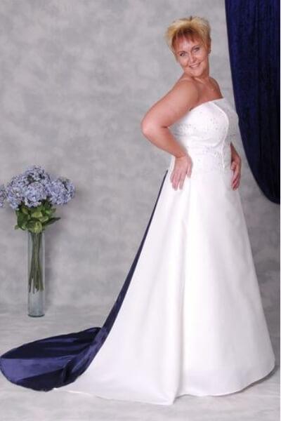 Patricia brudekjole 4-H-XL