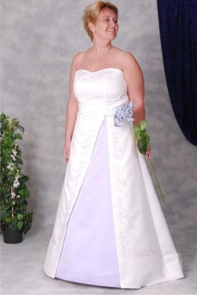Patricia brudekjole 5-H-XL