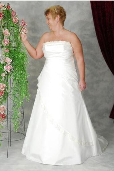 Patricia brudekjole 7-H-XL